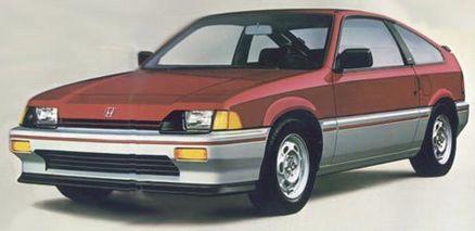 Honda CRX Models