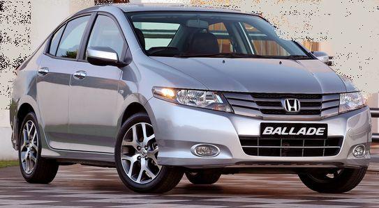 Honda Ballade Models