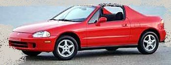 Honda Del Sol Models